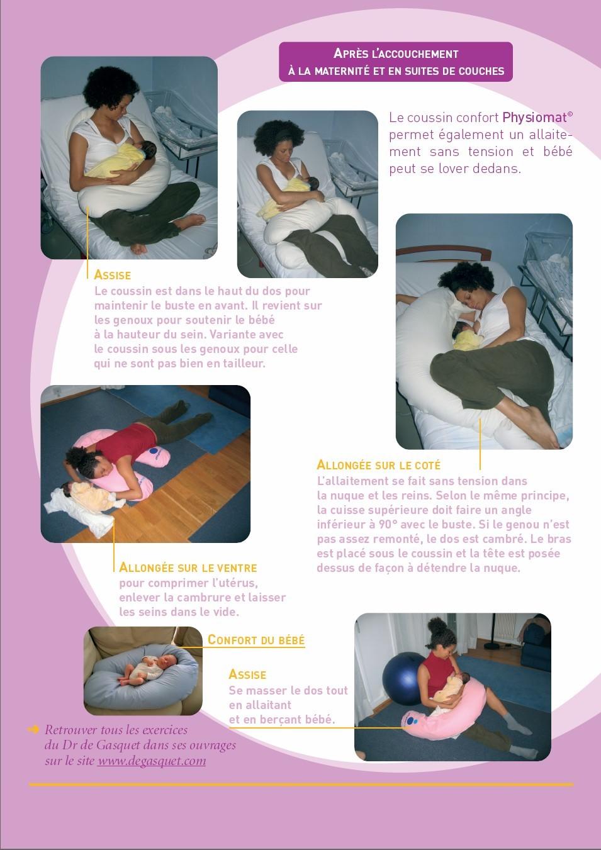 Les bonnes positions d allaitement b b sant fr - Peut on coucher bebe sur le ventre ...
